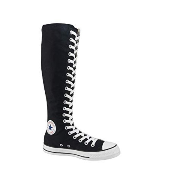 Converse Shoes   Knee High Lace Up Boot